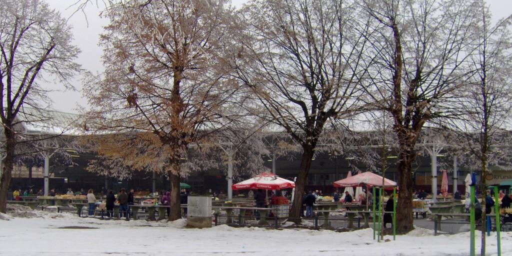 Mercato invernale in tempo di crisi (Fonte: Wikimedia)