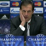 Allegri in conferenza Champions.