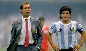 Bilardo e Maradona