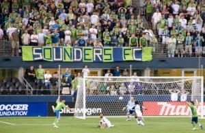 La caldissima curva degli Seattle Sounders
