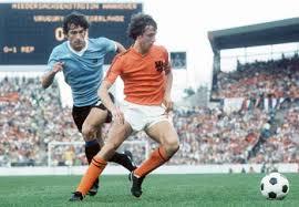 Johan Cruyff in azione - fonte caffenws.it