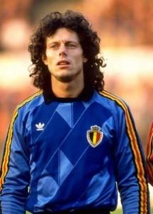Michel Preud'homme - fonte: Calciatori capelloni