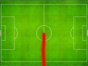 Diego Costa Heat Map