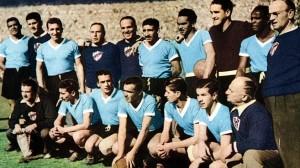 L'Uruguay campione nel 1950 - fonte it.wikipedia.org