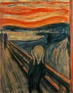 Tifoso tedesco medio in attesa dell'Italia (L'urlo di Munch - fonte iy.wikipedia.org)